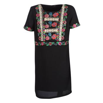Vêtements Femme Robes courtes Desigual TRALEE Noir