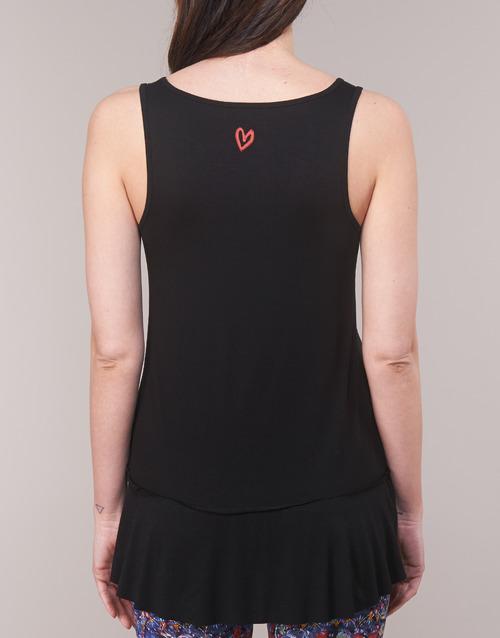 MELISA  Desigual  débardeurs / t-shirts sans manche  femme  noir