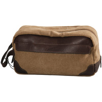 Sacs Trousses de toilette Gerard Henon Trousse de toilettes Collection Safari 22308 Marron clair