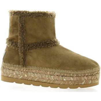 Chaussures Femme Bottes de neige Vidorreta Videtta Boots cuir velours Camel