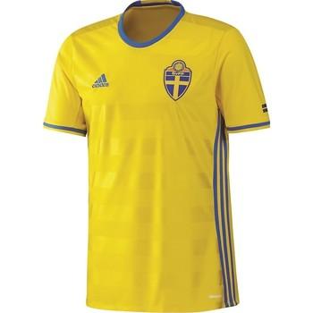 Vêtements Homme T-shirts manches courtes adidas Originals Maillot De Foot Homme  Svff H Jsy Jaune
