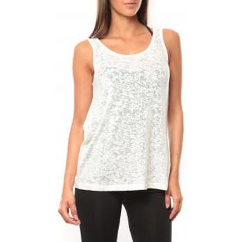 Vêtements Femme Débardeurs / T-shirts sans manche Vero Moda Débardeur Kitty Tank Top 10110750 Blanc Blanc