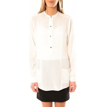Blouses Vero moda alec l/s tunic w/out top pockets 10097849 blanc