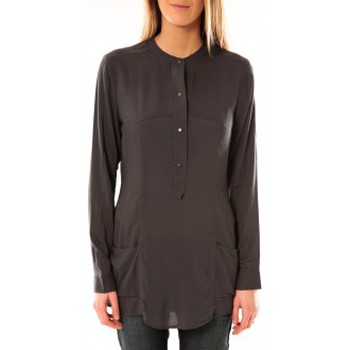 Blouses Vero moda alec l/s tunic w/out top pockets 10097849 asphalte