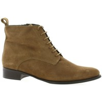Chaussures Femme Boots Vidi Studio Boots cuir velours Camel