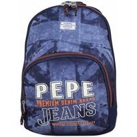 Sacs Garçon Sacs à dos Pepe jeans Sac à dos  drapeau Anglais bleu 65624 Multicolor