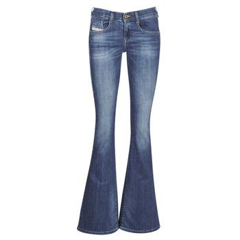 Vêtements Femme Jeans bootcut Diesel EBBEY Bleu 089AM