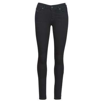 Vêtements Femme Jeans slim Diesel SLANDY Noir 069EF
