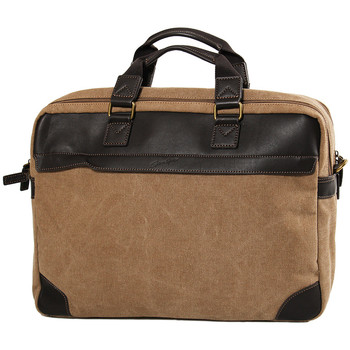 Sacs Homme Sacs ordinateur Gerard Henon Porte-ordinateur 17 Collection Safari 22384 Marron clair