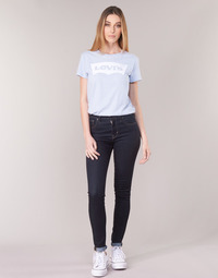 Vêtements Femme Jeans skinny Levi's 721 HIGH RISE SKINNY To The Nine