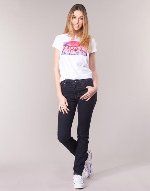 Vêtements Femme Jeans droit Levi's 724 HIGH RISE STRAIGHT To the nine