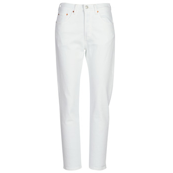 Vêtements Femme Jeans boyfriend Levi's 501 CROP In The Clouds
