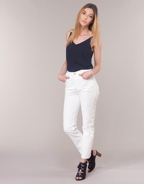 Vêtements Femme Jeans droit Levi's 501 CROP In The Clouds