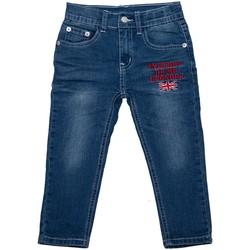 Vêtements Fille Jeans droit Interdit De Me Gronder Elite Bleu