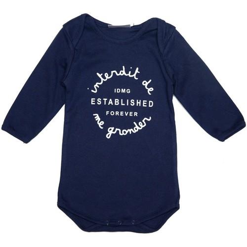 Vêtements Fille Robes Interdit De Me Gronder Authentic Bleu marine