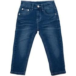 Vêtements Garçon Jeans droit Interdit De Me Gronder Trendy Bleu roi
