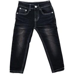 Vêtements Garçon Jeans droit Interdit De Me Gronder Trendy Noir
