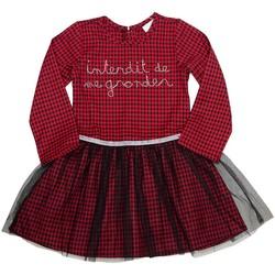 Vêtements Fille Robes courtes Téléchargez lapplication pour Friends Rouge