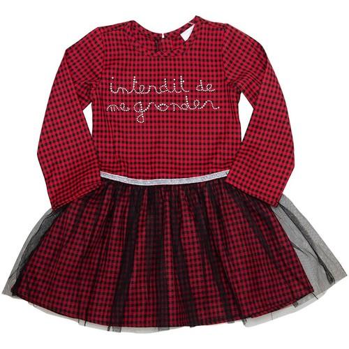 Vêtements Fille Robes courtes Interdit De Me Gronder Friends Rouge