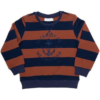 Vêtements Fille Sweats Interdit De Me Gronder Naviga Bleu marine