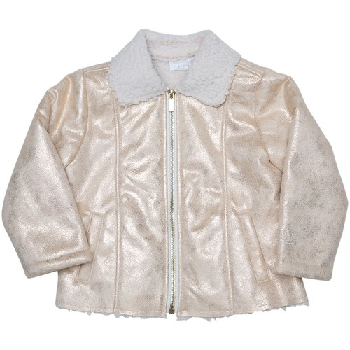 Vêtements Fille Blousons Interdit De Me Gronder Gold Doré