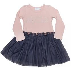 Vêtements Fille Robes courtes Interdit De Me Gronder Bubble Corail