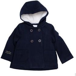 Vêtements Fille Manteaux Interdit De Me Gronder Marina Bleu marine