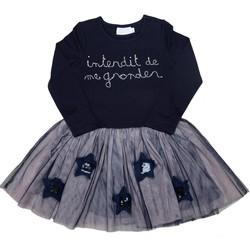 Vêtements Fille Robes courtes Interdit De Me Gronder Etoile Bleu