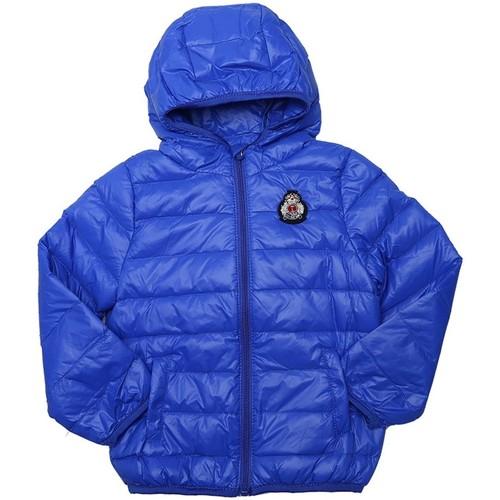 Vêtements Garçon Doudounes Interdit De Me Gronder Travel Bleu roi