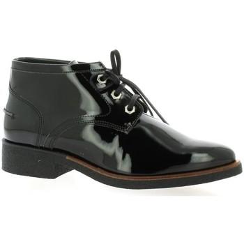 Chaussures Femme Boots Vidi Studio Boots cuir glacé Noir