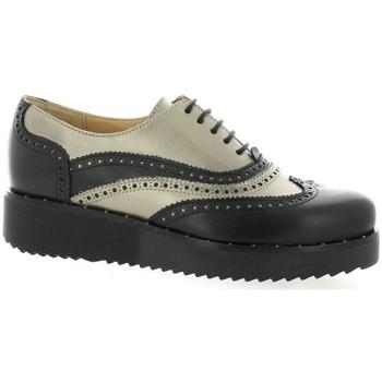 Chaussures Femme Derbies Vidi Studio Derby cuir   et Noir/or