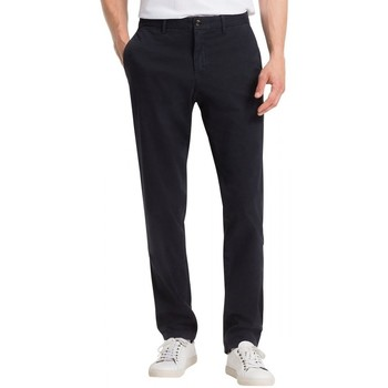 Vêtements Homme Chinos / Carrots Tommy Hilfiger Chino Extensible Bleu Marine
