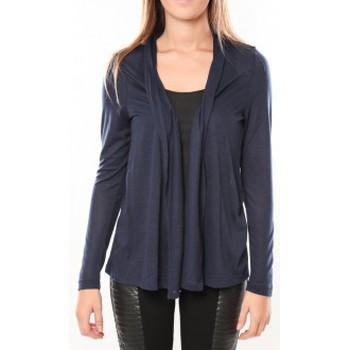 Vêtements Femme Gilets / Cardigans Vero Moda Conrad LS Cardigan 10098335 Bleu Bleu
