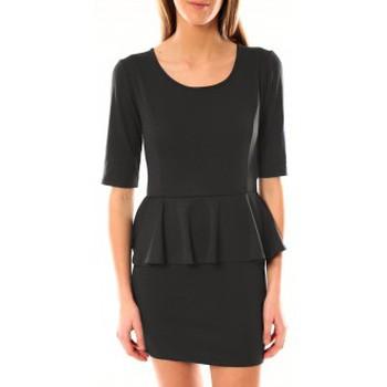 Vêtements Femme Robes courtes Tcqb Robe Moda Fashion Anthracite Gris