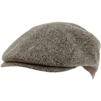 Accessoires textile Homme Chapeaux Herman 1874 Range 001 taupe cap Gris chiné
