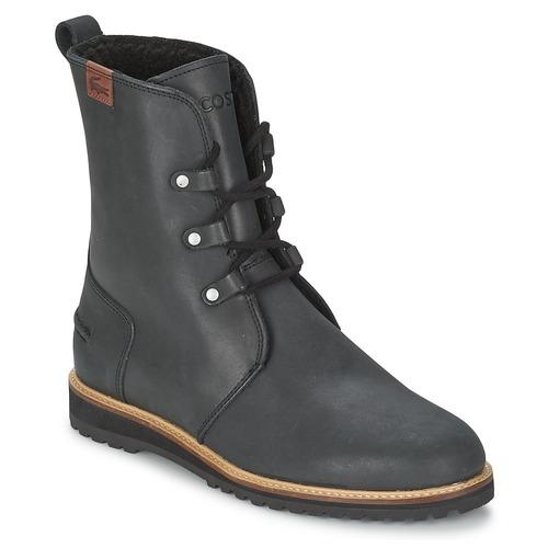 Chaussures Femme Boots Lacoste BAYLEN 4 Noir