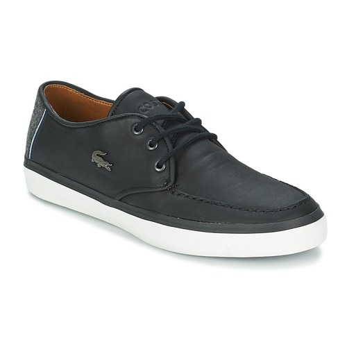 Chaussures Homme Chaussures bateau Lacoste SEVRIN LCR 2 Gris