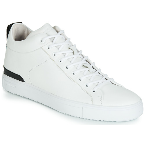 Chaussures Homme Baskets montantes Blackstone RM14 Blanc