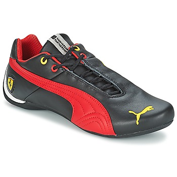 Chaussures Homme Baskets basses Puma FUTURE CAT LEATHER SF -10- Noir / Rouge