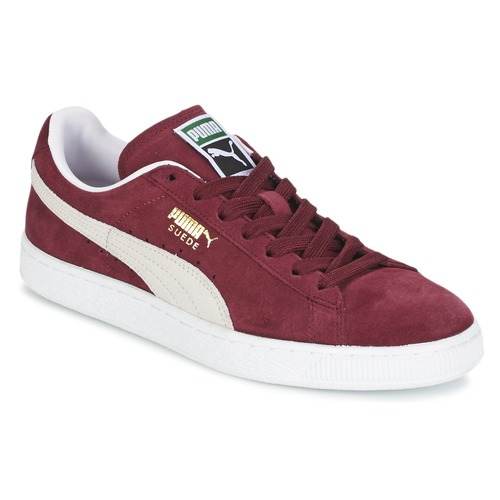 puma suede rouge bordeaux