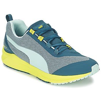 Chaussures Femme Running / trail Puma IGNITE XT Bleu / Jaune