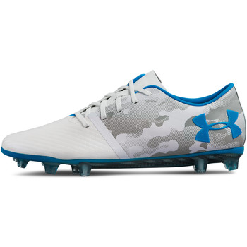Chaussures Homme Football Under Armour Spotlight Lace FG Weiss