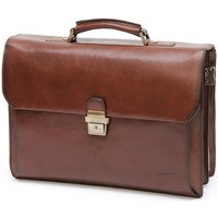 Sacs Homme Porte-Documents / Serviettes Gerard Henon Cartable New Master GH 5526 Marron
