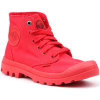 Chaussures Femme Baskets montantes Palladium Manufacture Mono Chrome 73089-600-M czerwony