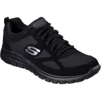 Chaussures Homme Baskets basses Skechers Burns Noir