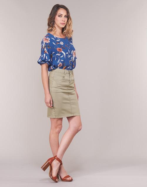 ALLY  Cream  tops / blouses  femme  bleu
