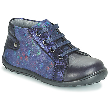Chaussures Fille Boots André POLA MARINE