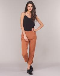 Vêtements Femme Pantalons fluides / Sarouels See U Soon GARAGACI Ocre