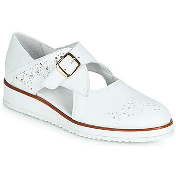 Chaussures Femme Derbies Regard RIXALO V1 NAPPA BLANC Blanc