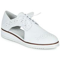 Chaussures Femme Derbies Regard RIXAMU V1 NAPPA BLANC Noir